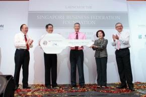 SBF foundation launched by Prime Minister Lee Hsien Loong