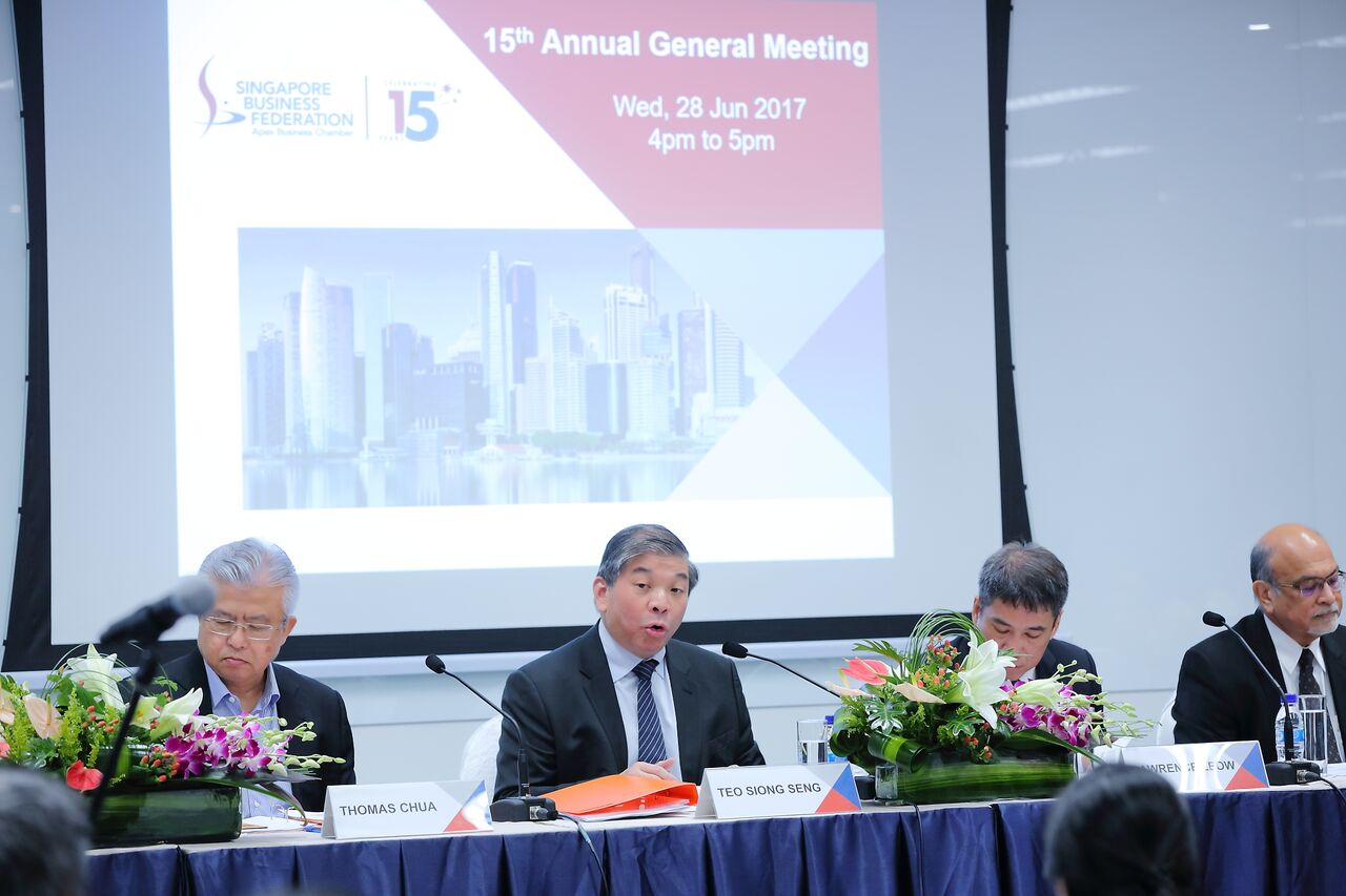 Picture & Video Gallery - Singapore Business Federation
